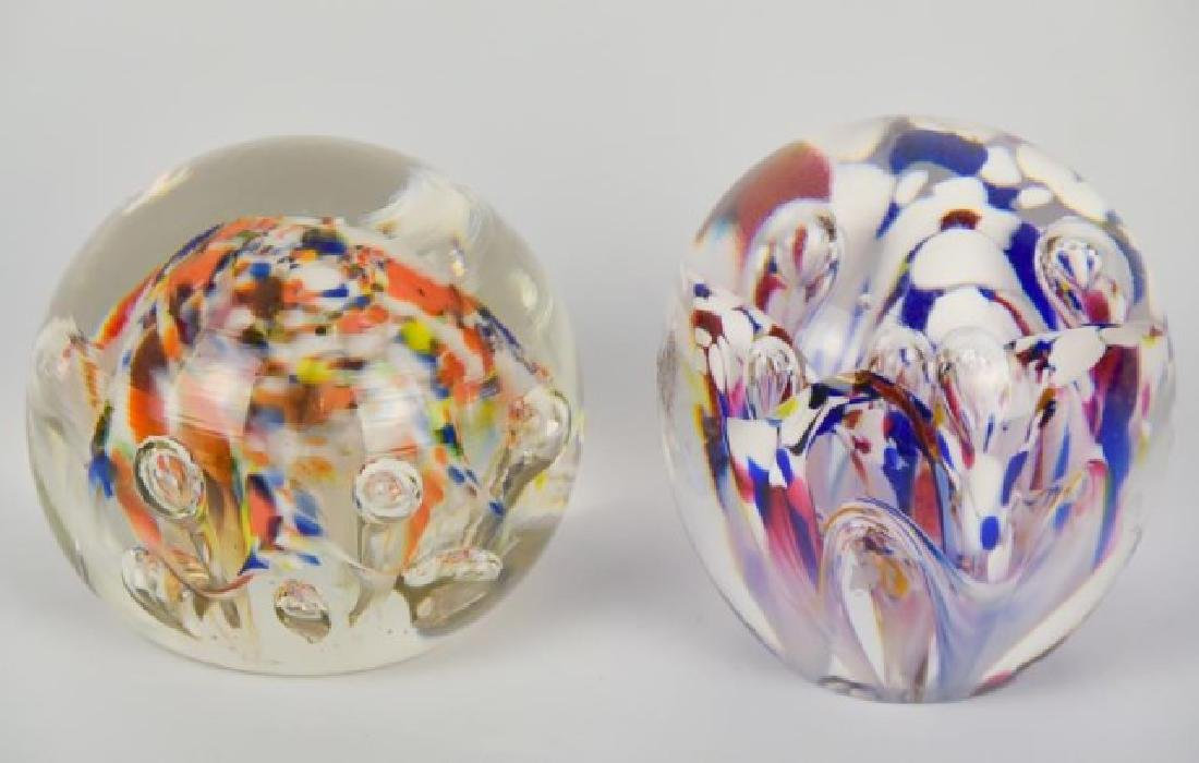 Eight Glass Paperweights - 10