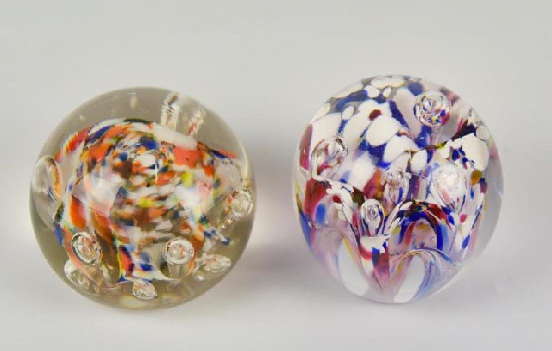Eight Glass Paperweights - 2