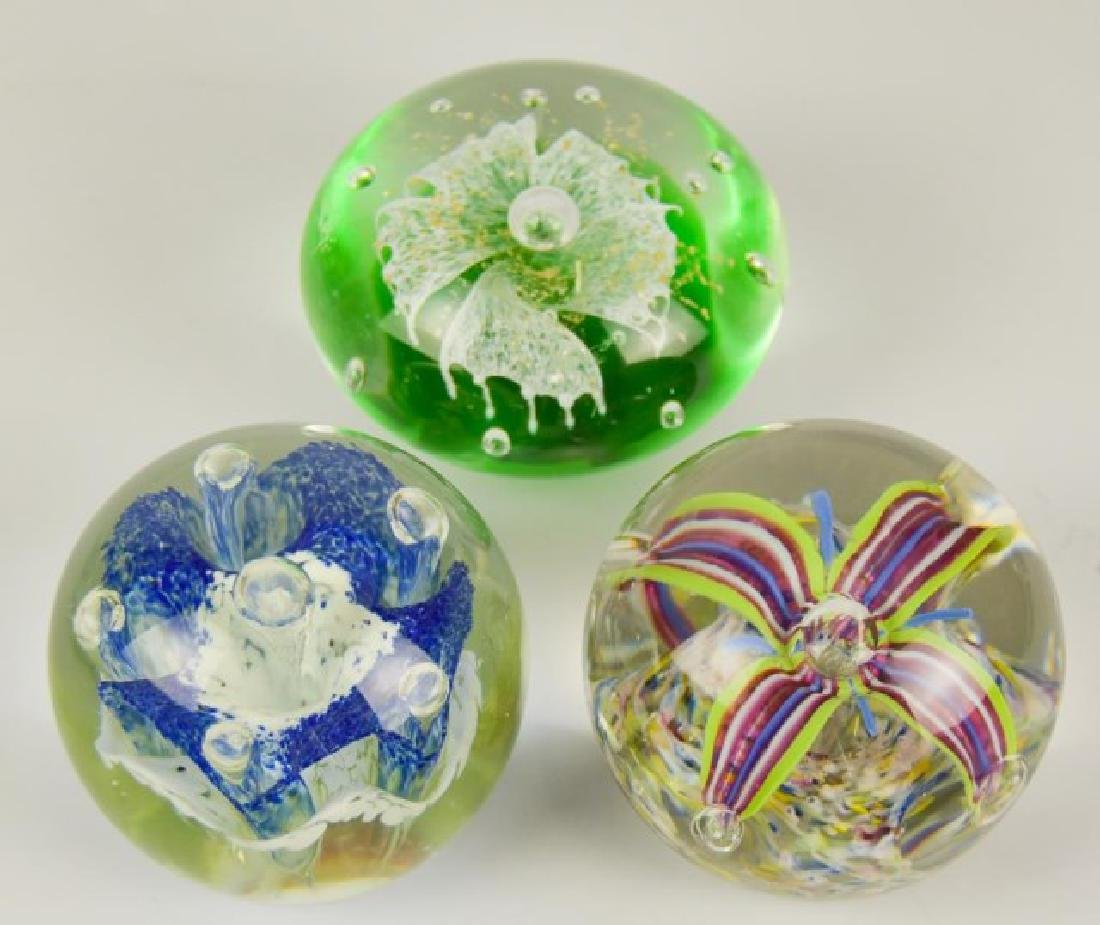 Eight Glass Paperweights - 4