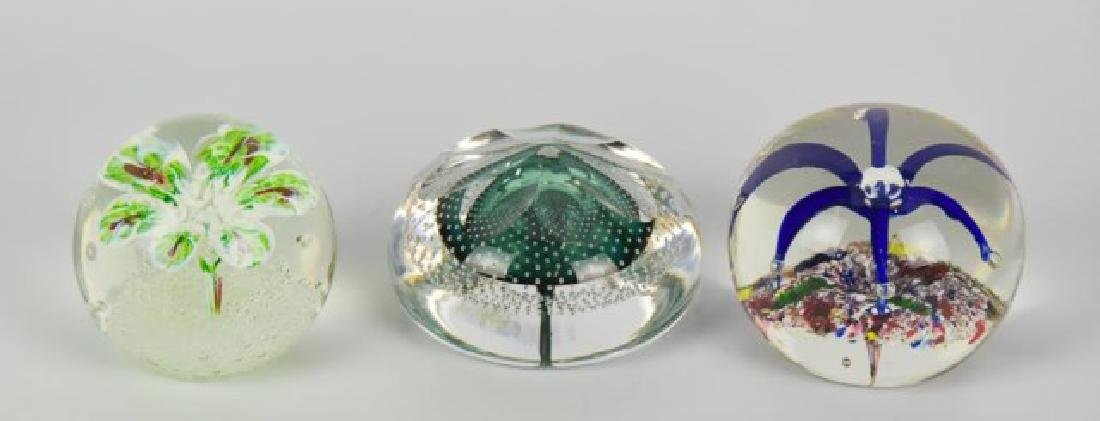 Eight Glass Paperweights - 5