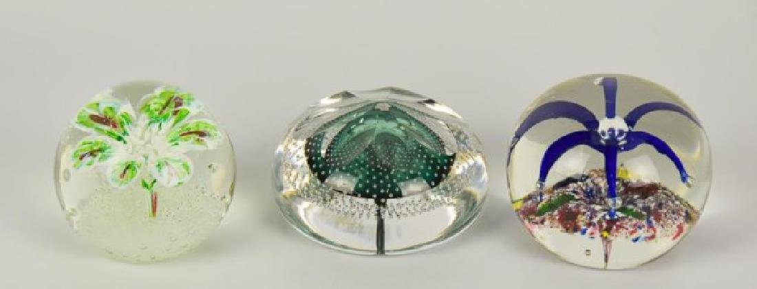 Eight Glass Paperweights - 6
