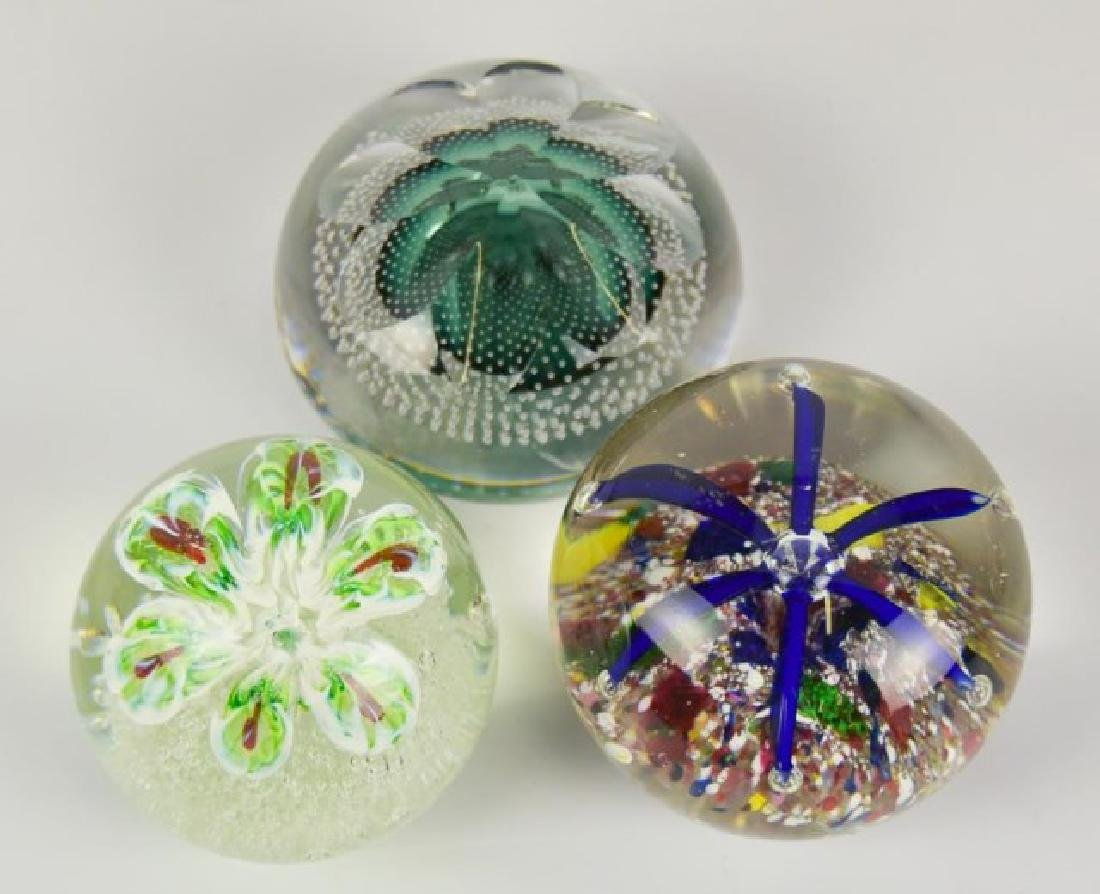 Eight Glass Paperweights - 7