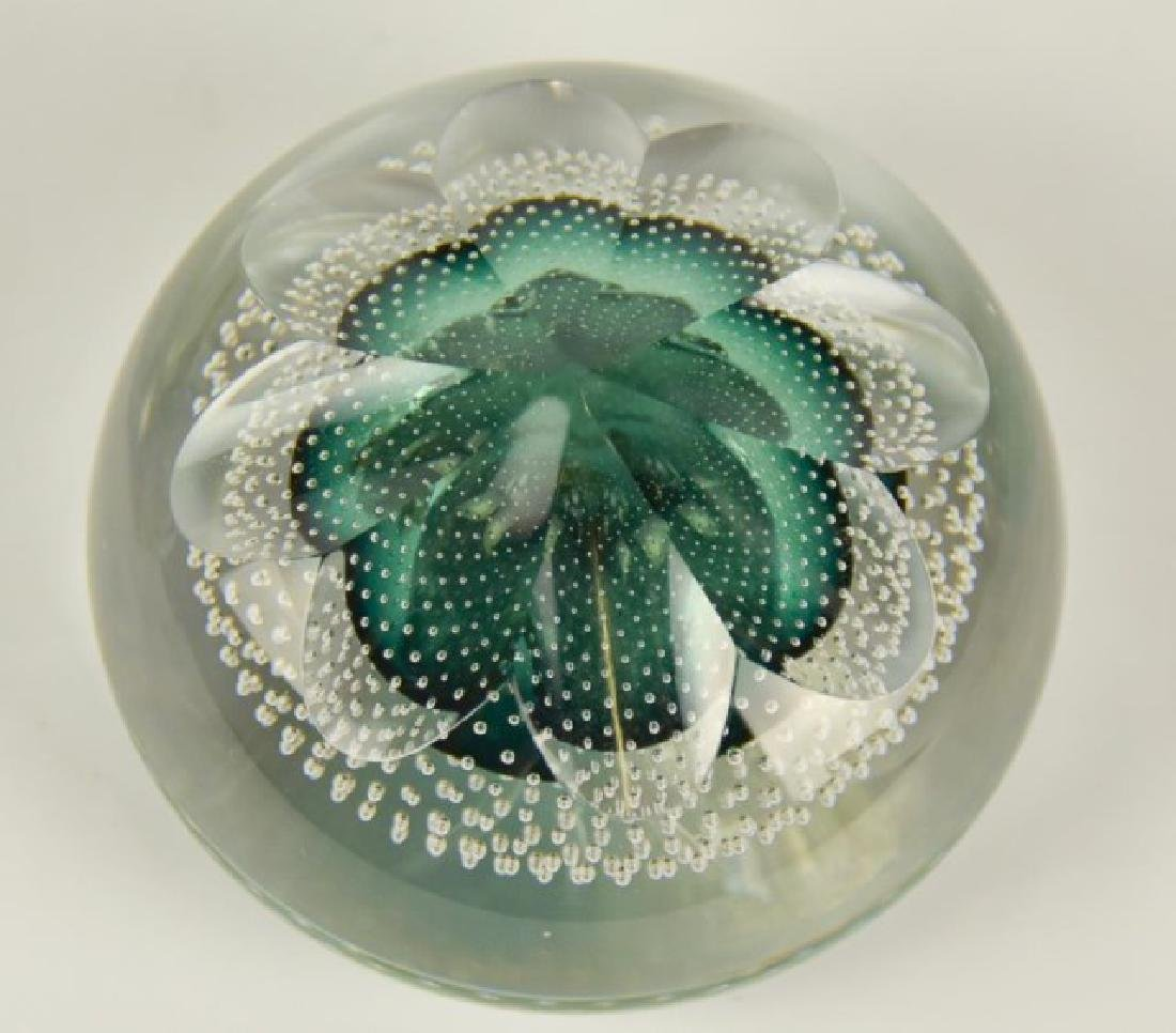 Eight Glass Paperweights - 8