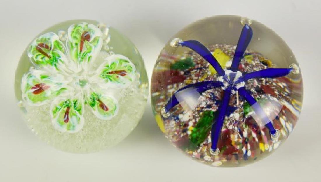 Eight Glass Paperweights - 9