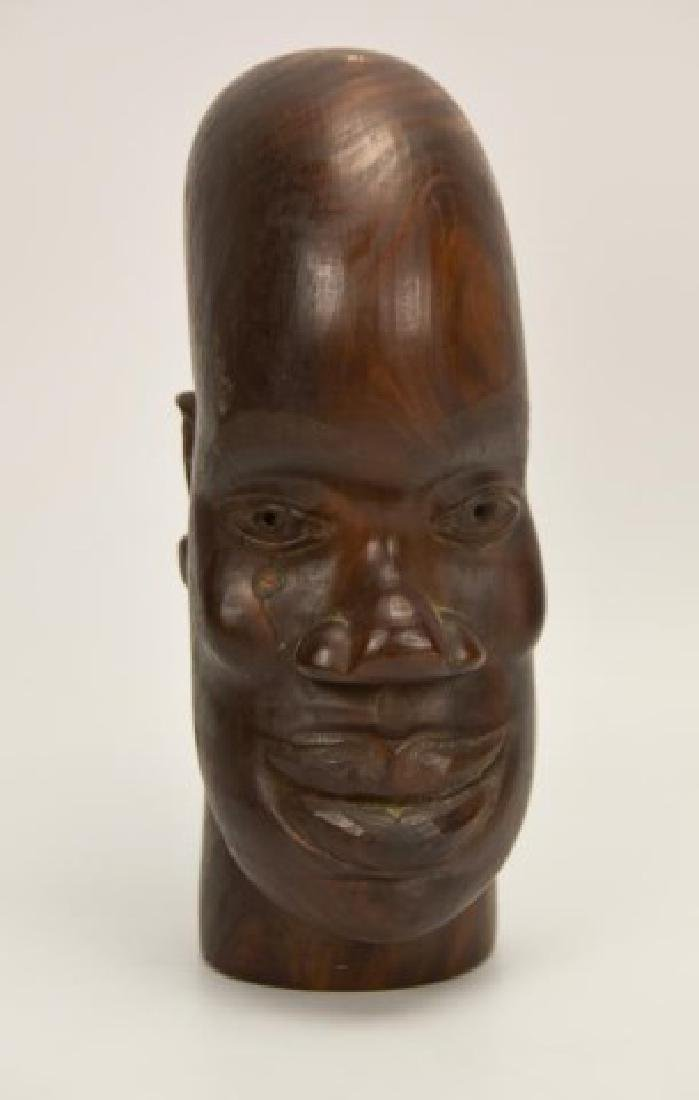 Signed David S. Miller, Jamaica, Wood Carving
