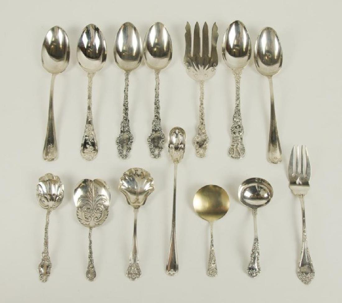 18 Pieces Durgin Sterling Silver