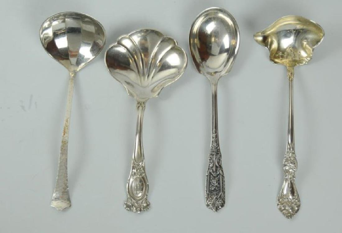 18 American Sterling Silver Serving Pieces - 2