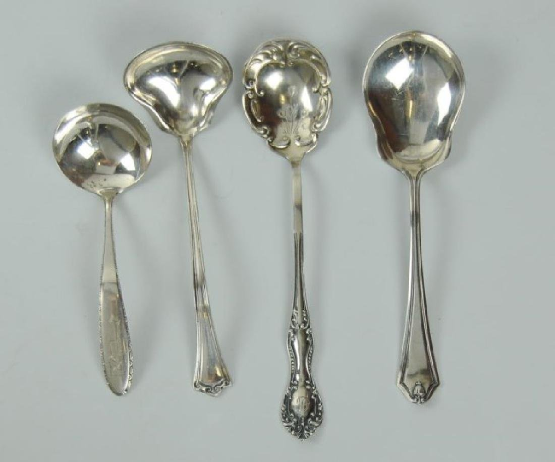 18 American Sterling Silver Serving Pieces - 3