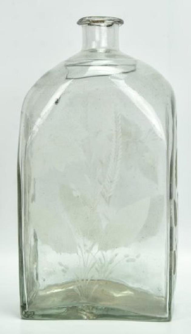 19th Century Blown Glass Decanter - 2