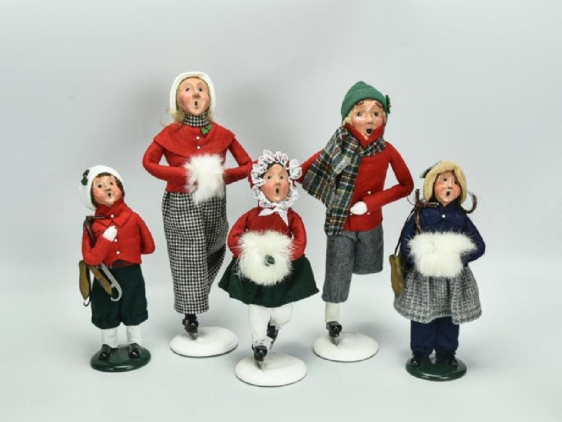 10 Byers Choice Christmas Figures - 2