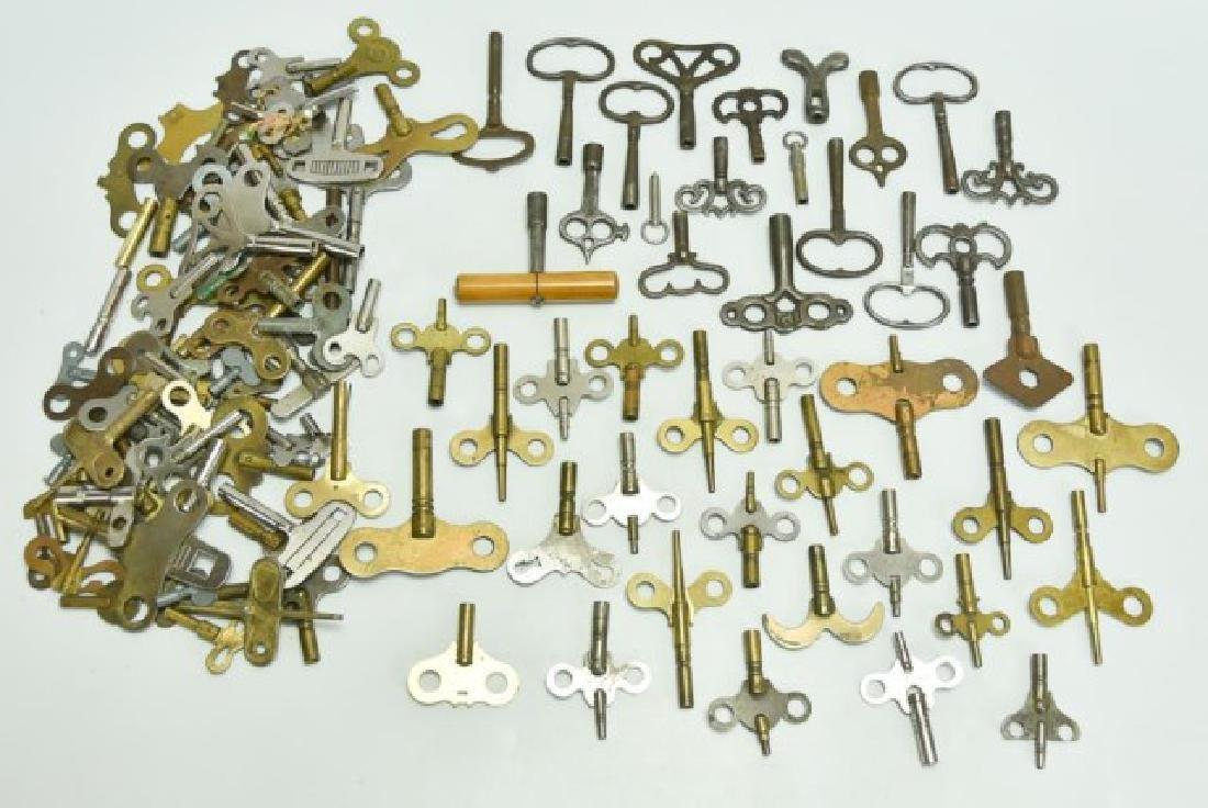 Approximately 110 Clock Keys