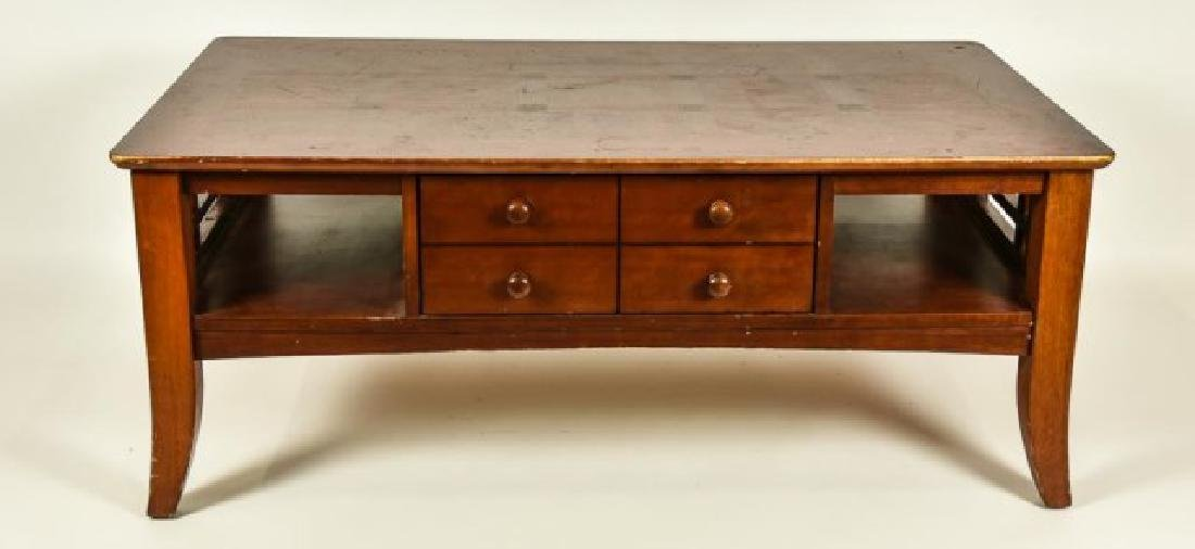 Pair of Side Tables w/ Matching Coffee Table - 2