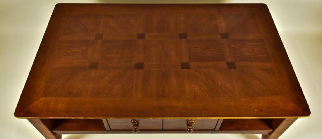 Pair of Side Tables w/ Matching Coffee Table - 3
