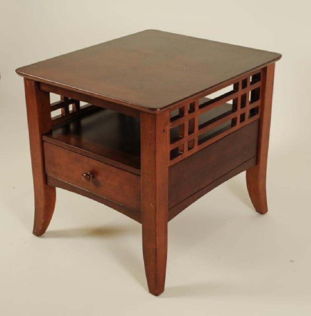 Pair of Side Tables w/ Matching Coffee Table - 4
