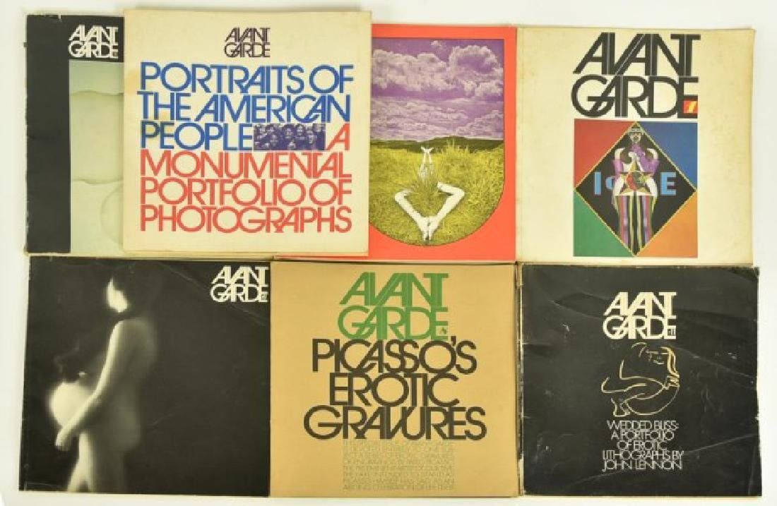 7 Avant Garde Magazines--Lennon, Picasso, Other