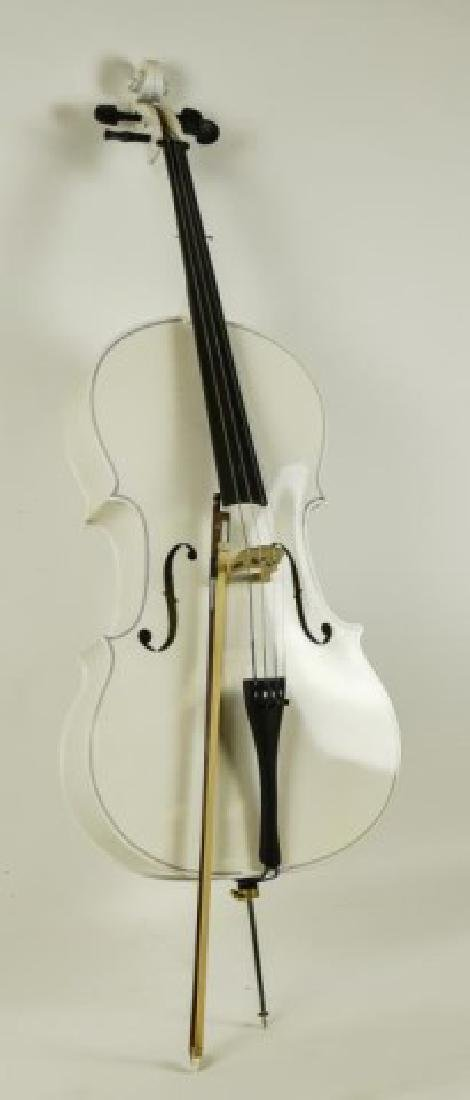 Cello with Bow - 2