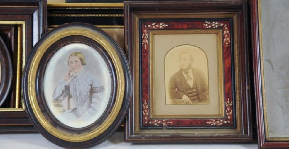 Lot of 34 Frames, Late 19th / Early 20th Century - 10