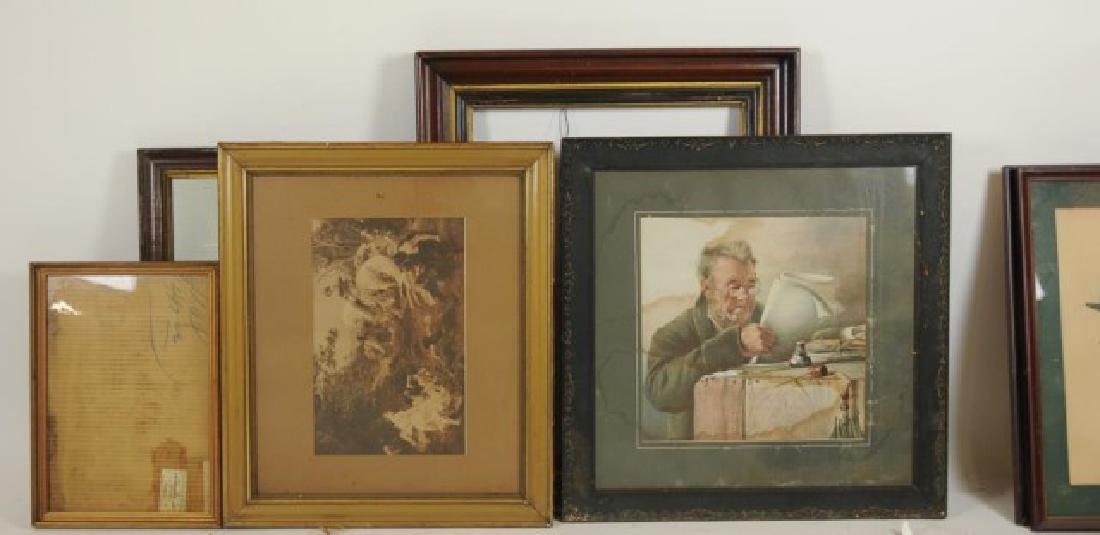 Lot of 34 Frames, Late 19th / Early 20th Century - 2