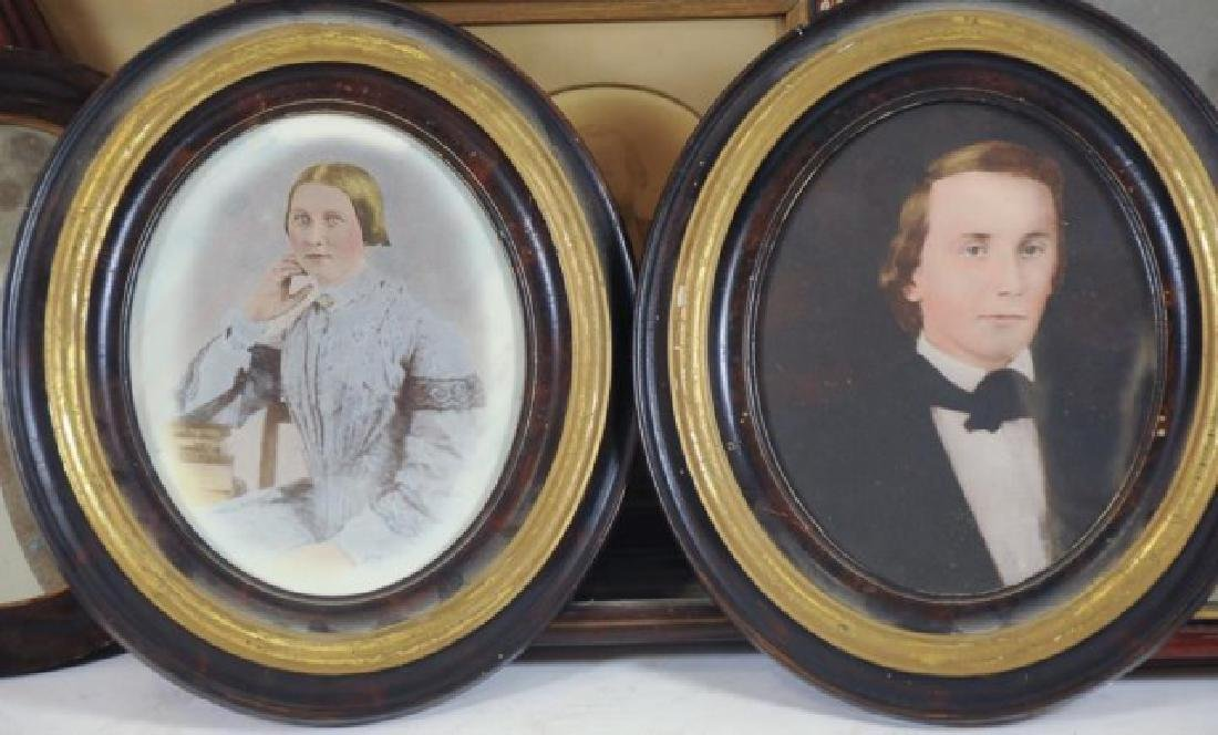 Lot of 34 Frames, Late 19th / Early 20th Century - 3