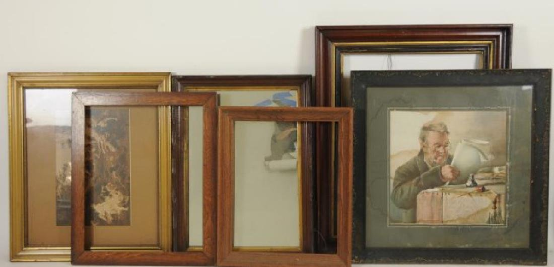 Lot of 34 Frames, Late 19th / Early 20th Century - 5