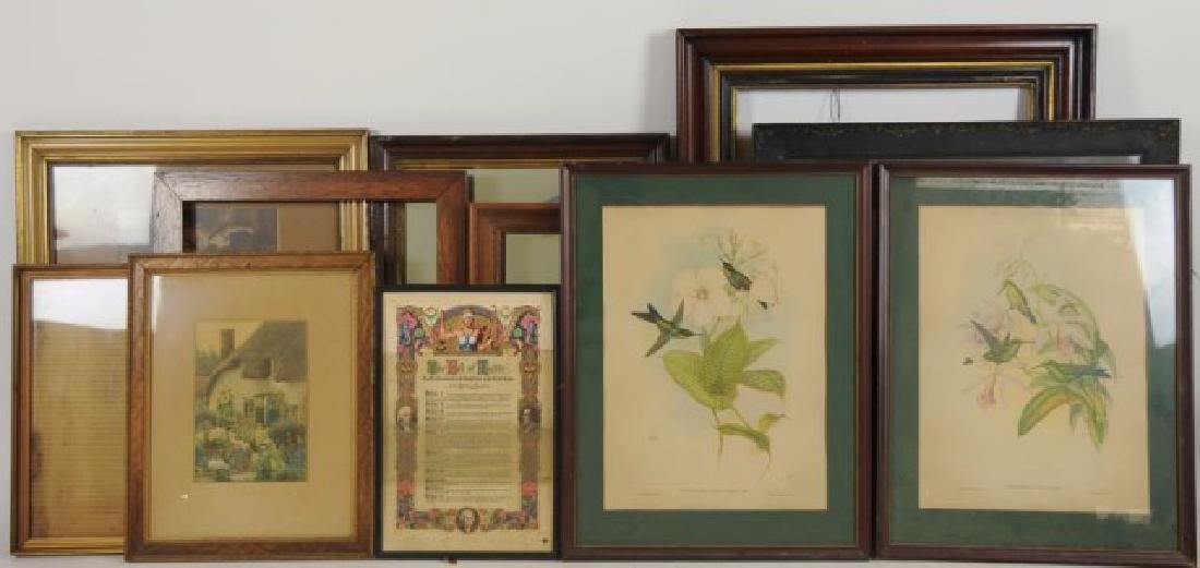 Lot of 34 Frames, Late 19th / Early 20th Century - 6