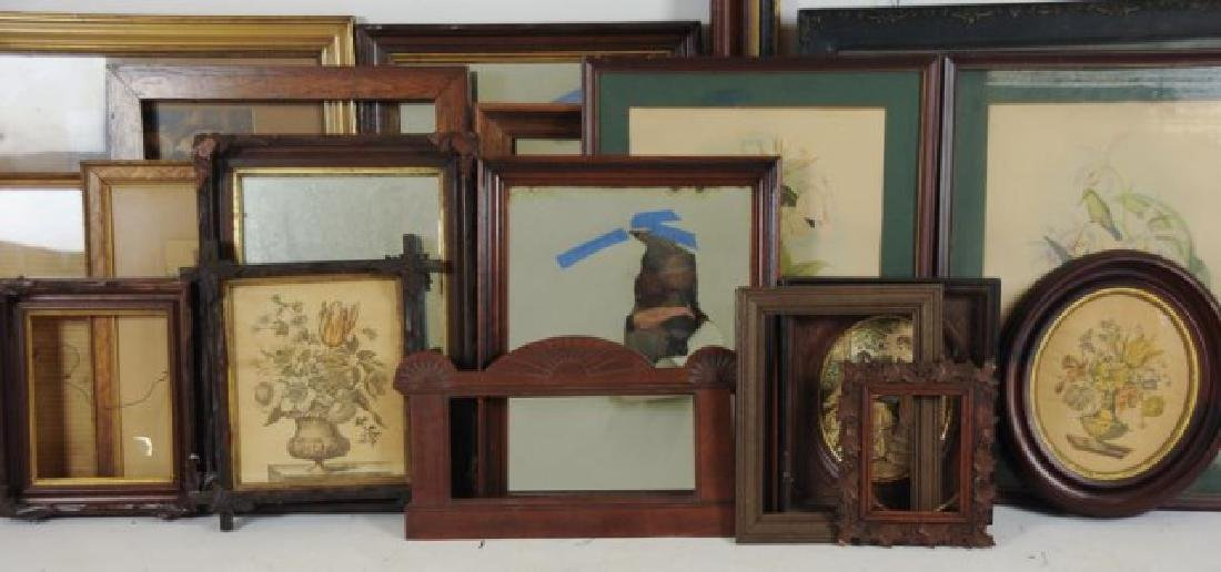 Lot of 34 Frames, Late 19th / Early 20th Century - 7