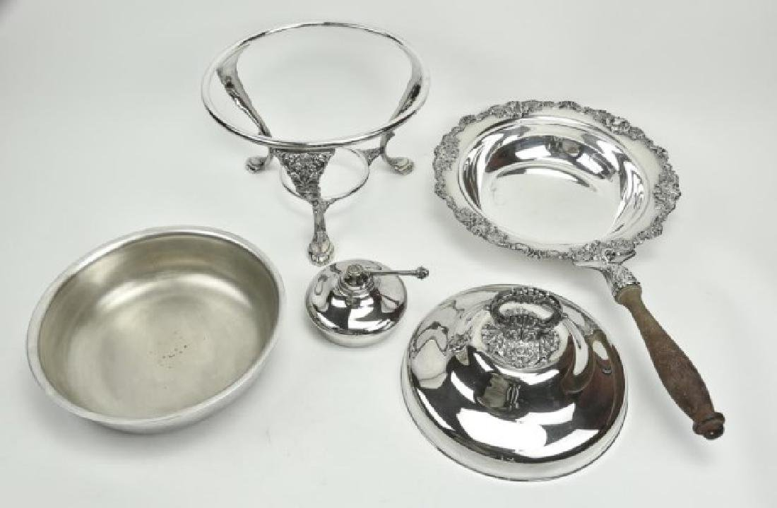 Lot of Silverplate Tableware - 2