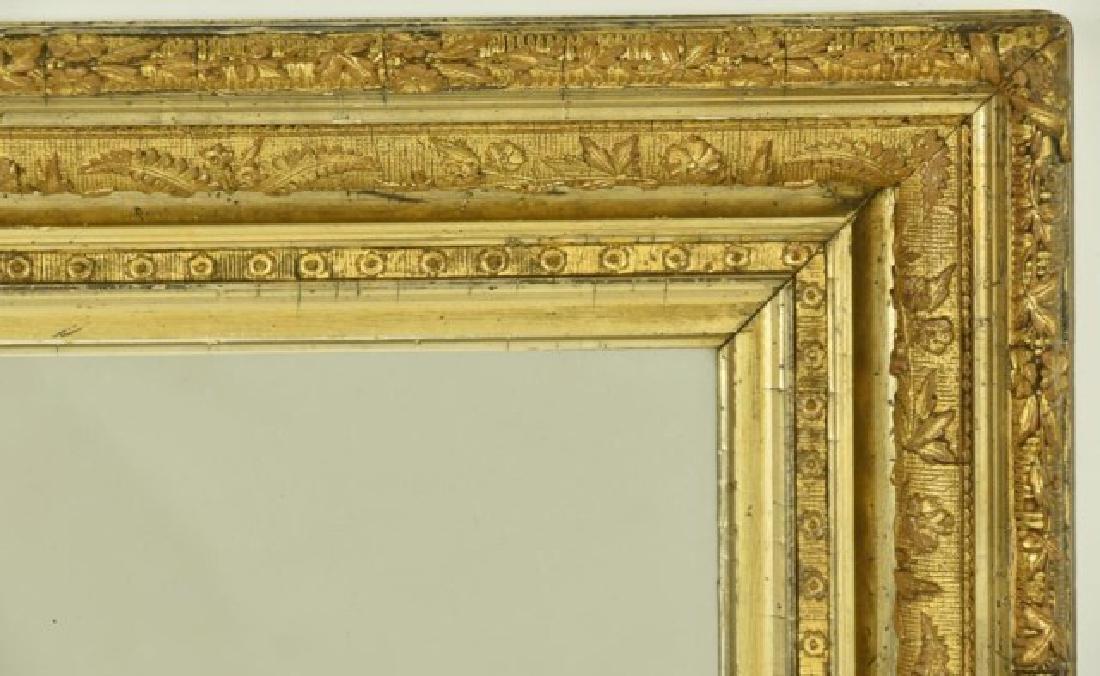 19th C. Gilt Wood & Gesso Frame - 2