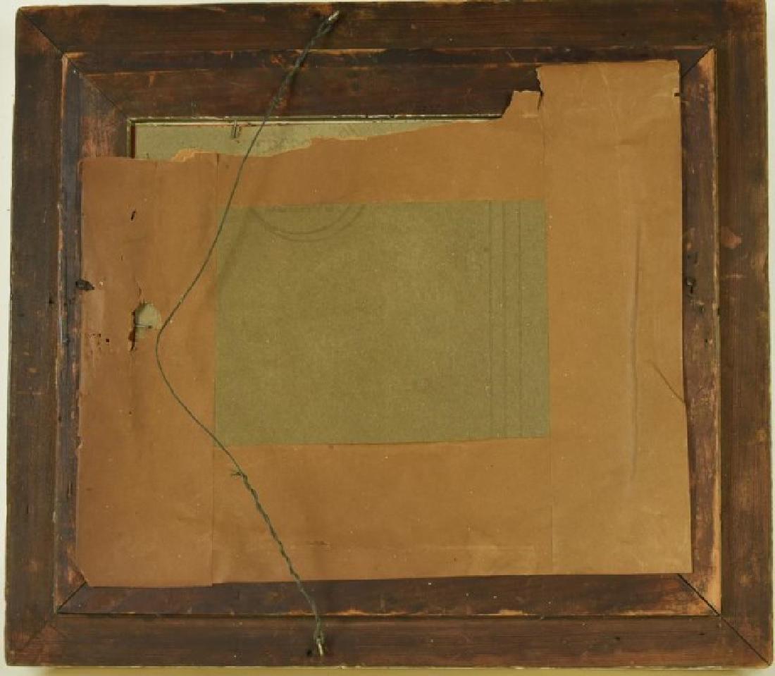 19th C. Gilt Wood & Gesso Frame - 3