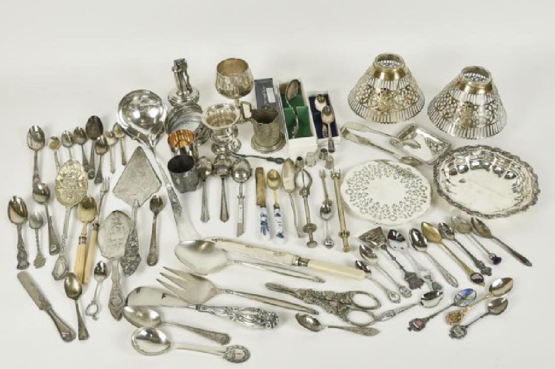 Approximately 70 Pieces of Silver Plate & Other