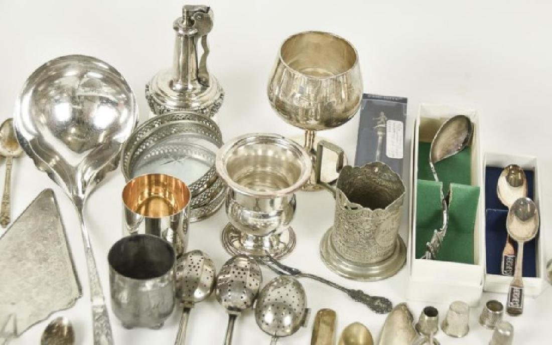Approximately 70 Pieces of Silver Plate & Other - 2