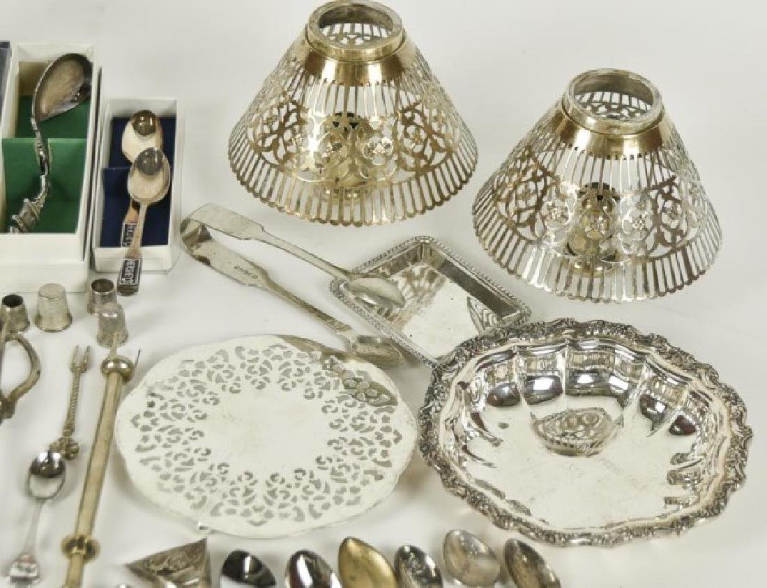 Approximately 70 Pieces of Silver Plate & Other - 3