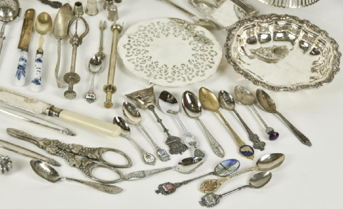 Approximately 70 Pieces of Silver Plate & Other - 4