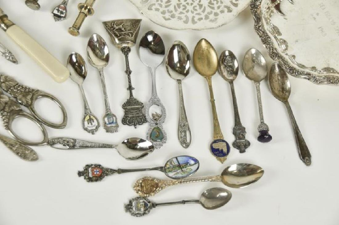 Approximately 70 Pieces of Silver Plate & Other - 9