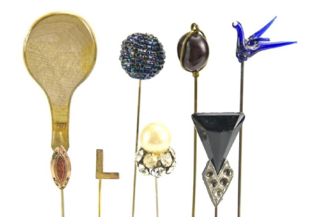 Grouping of Hat Pins and Stick Pins - 2