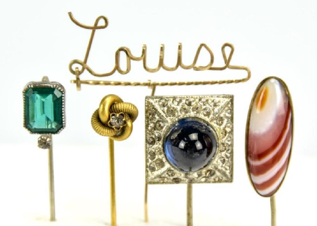 Grouping of Hat Pins and Stick Pins - 5