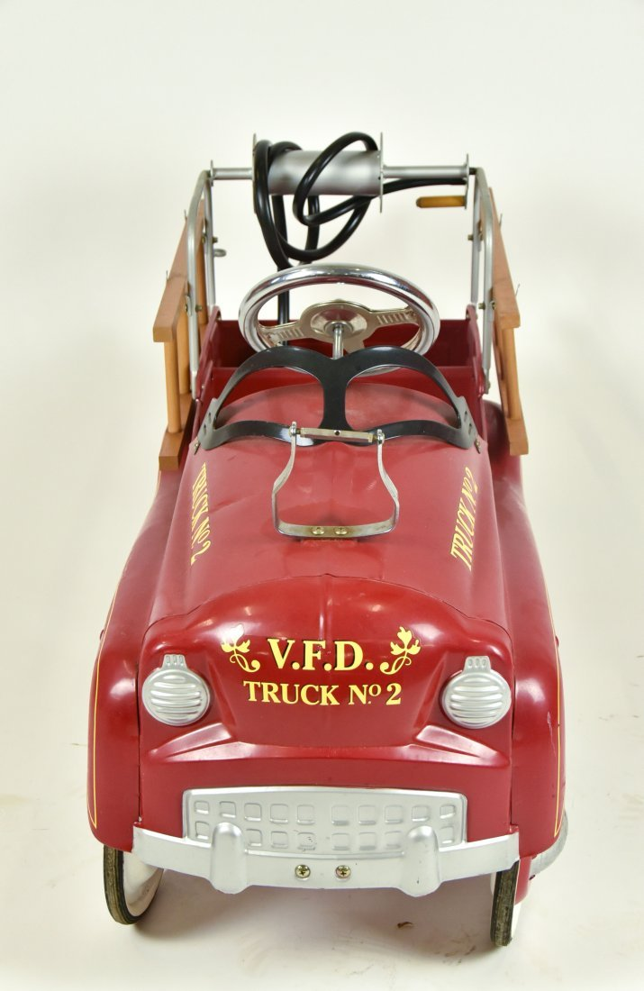 Contemporary 1950s Style Pedal Car - 3