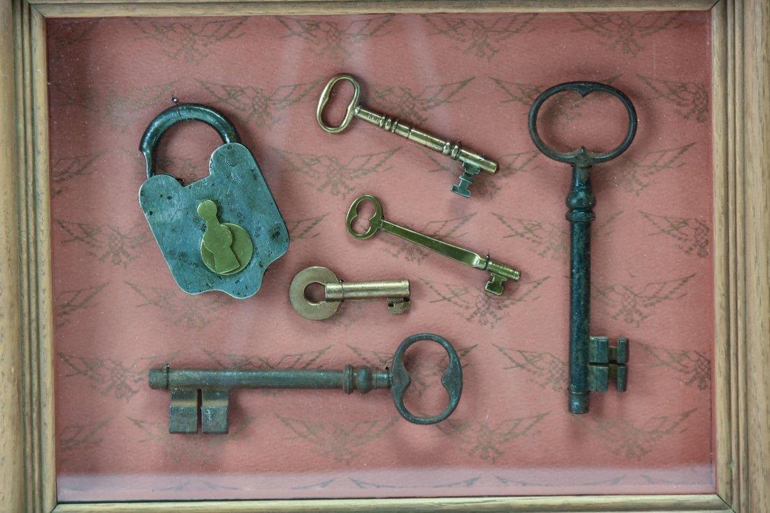 Over 75 Brass & Steel Door & Cabinet Keys - 2