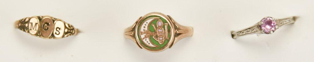 2 Lotton Art Glass Pendants, Other Jewelry - 7