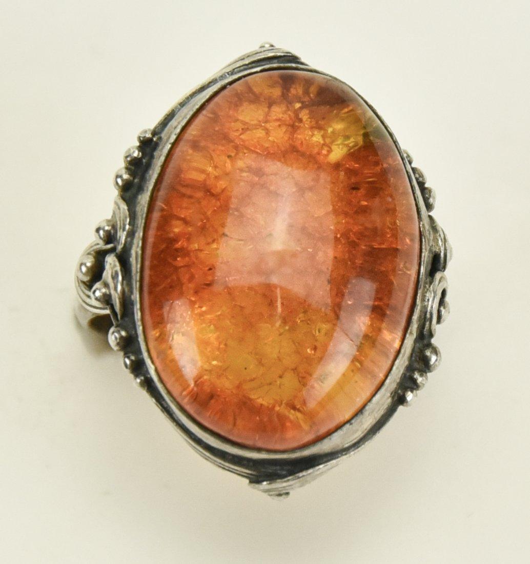 2 Lotton Art Glass Pendants, Other Jewelry - 9