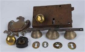 19th C Locks  Other Hardware