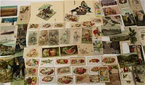 Postcards Ariosa Coffee Trade Cards Calling Cards