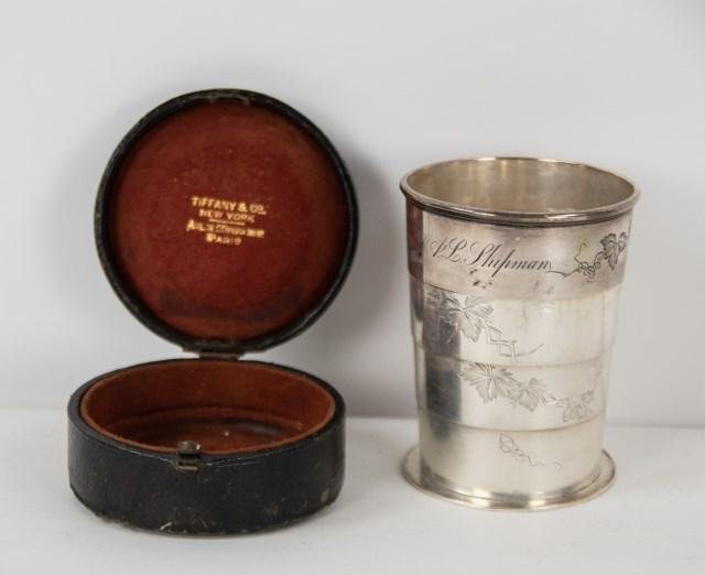 Tiffany & Co. Sterling Collapsible Cup