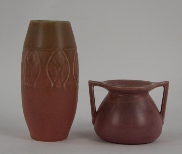 Two Rookwood Arts & Crafts Vases