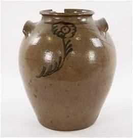 Edgefield Chandler Decorated Storage Jar