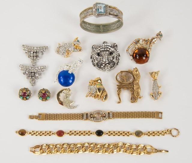 Lot of Vintage Costume Jewelry