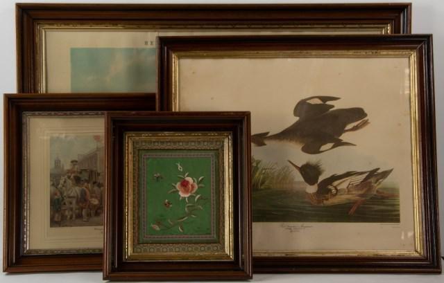 Four 19th Century Walnut Frames