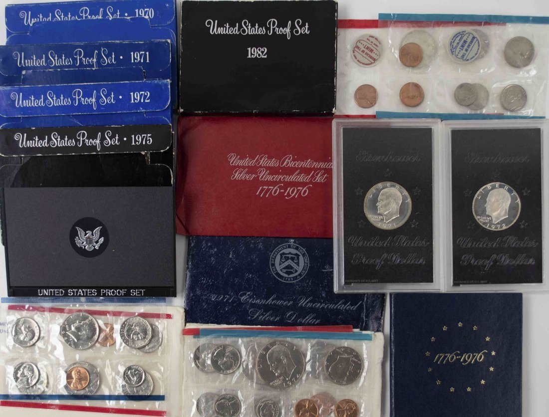 U.S. Silver Proof Sets & Other