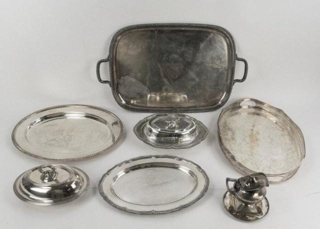 Lot of English & American Silver Plate