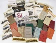 Lot of Various Railroad Books, Photos, Booklets